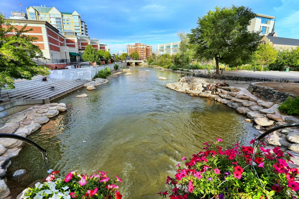 Truckee River Downtown Reno Chase International