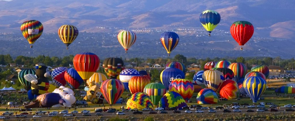 Reno Balloon Races Chase International