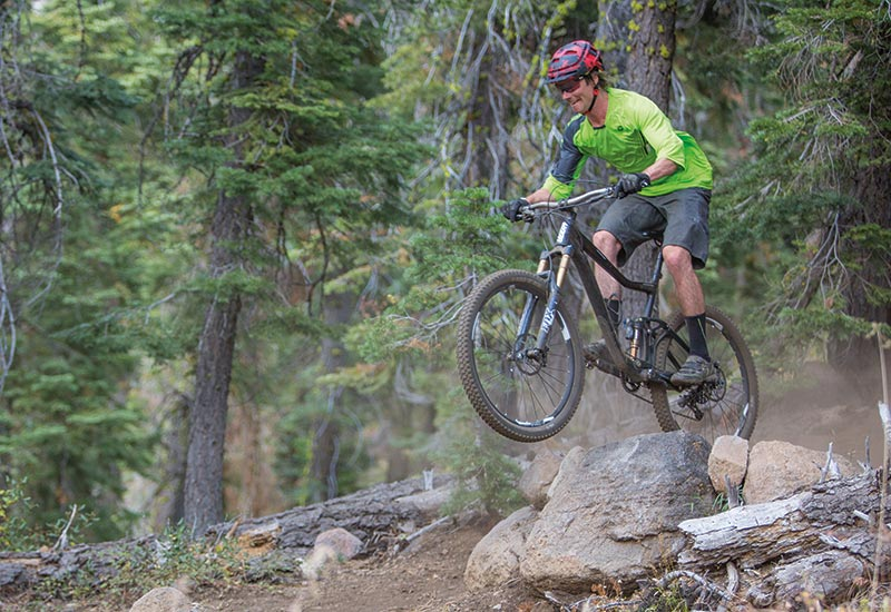 Mountain biking in Tahoe