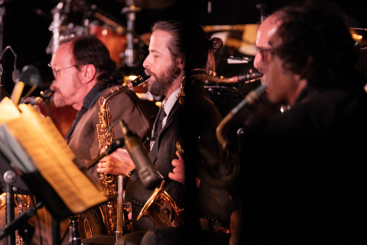 Reno Jazz Orchestra Saxophones Chase International Client Event