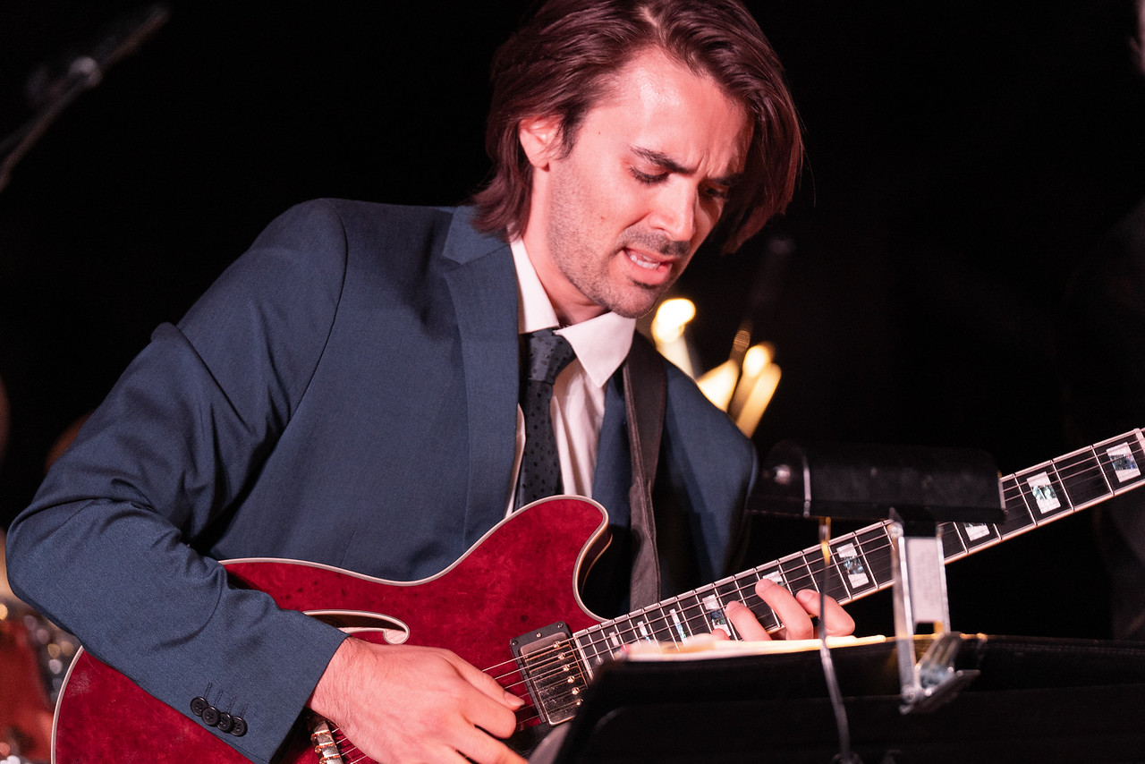 Guitarist at Kurt Elling Concert Chase International