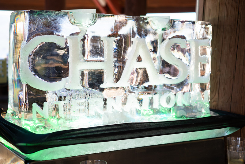 Chase International Ice Sculpture