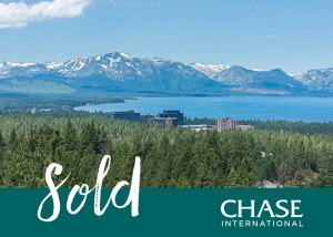 South Lake Tahoe View Home Sold by Chase International