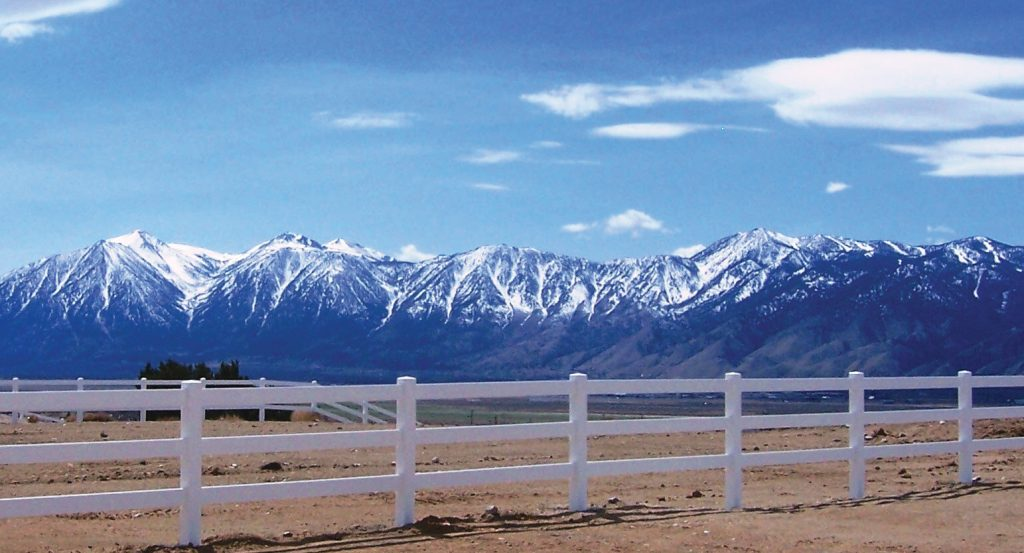 Genoa Ranch View Carson Valley NV
