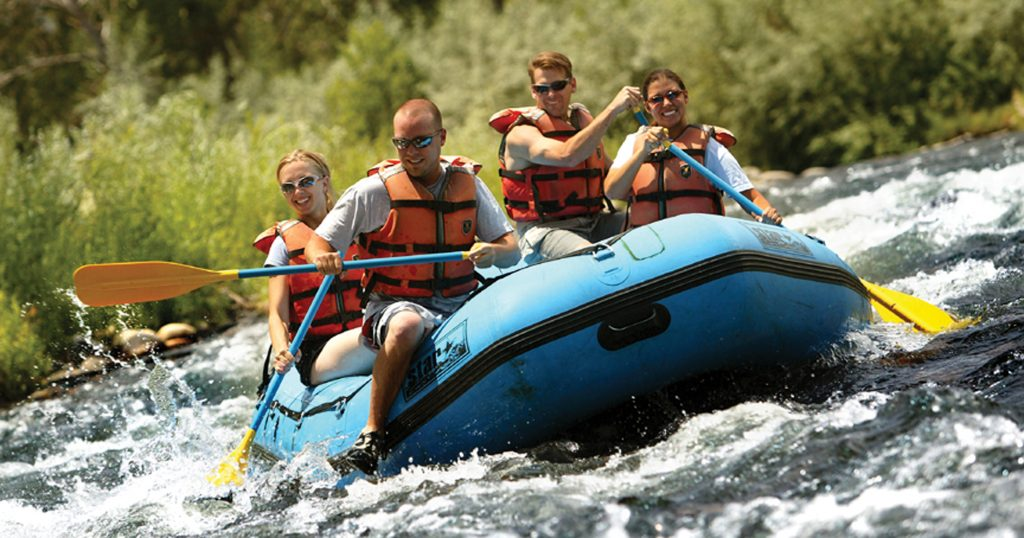 River Rafting on the Truckee