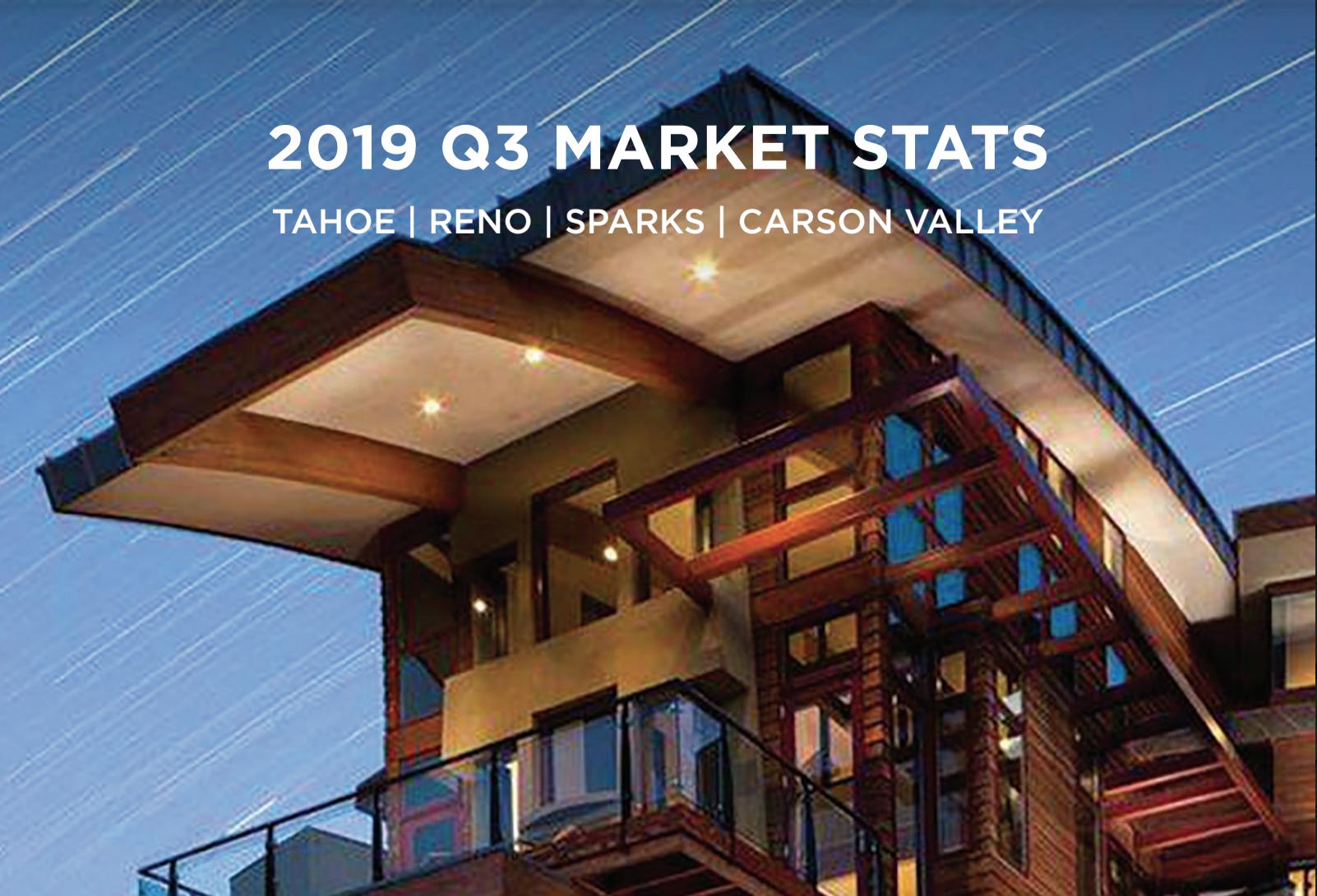 reno tahoe carson q3 real estate market reports