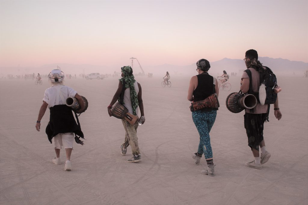 Drummers Black Rock City Burning Man