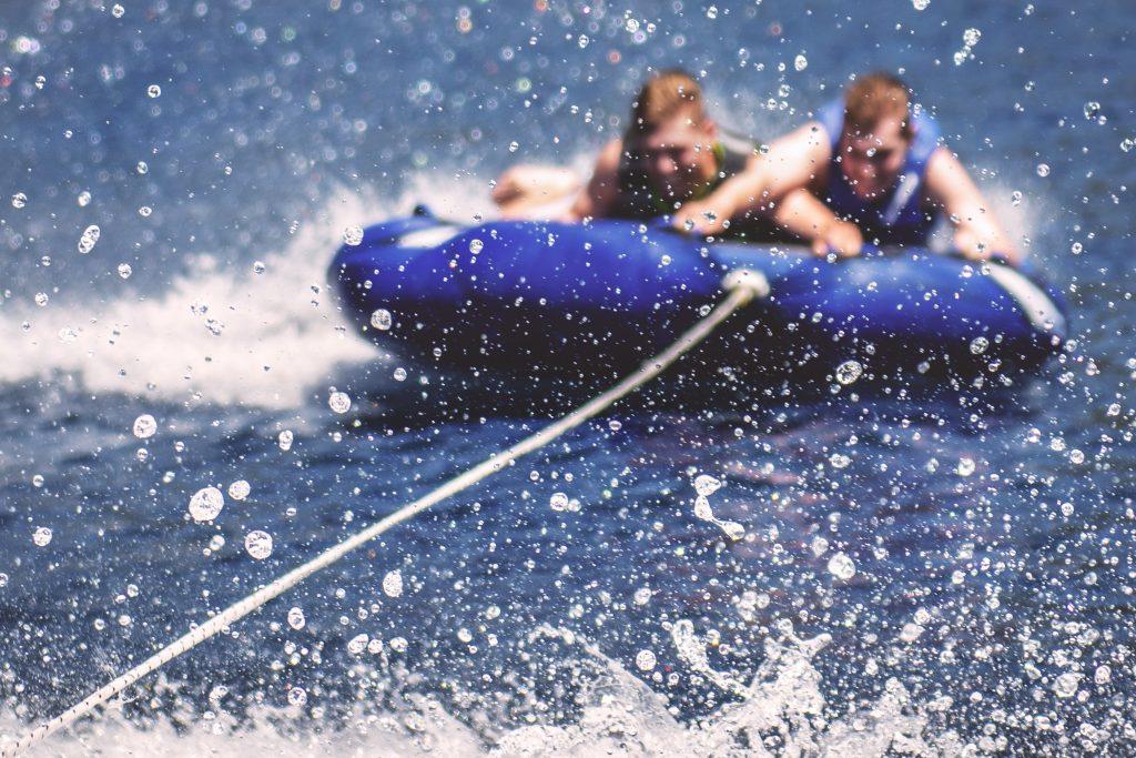 boat tubing lake tahoe