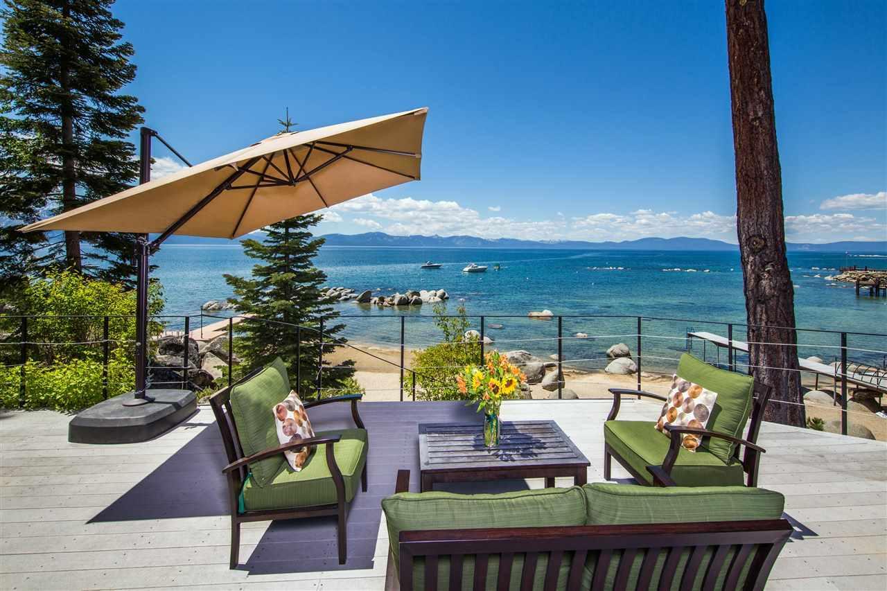 Skyland Lakefront Deck Zephyr Cove NV