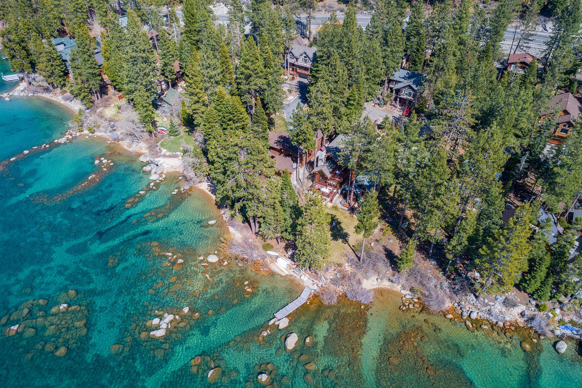 Lincoln Park Lake Tahoe NV Shoreline
