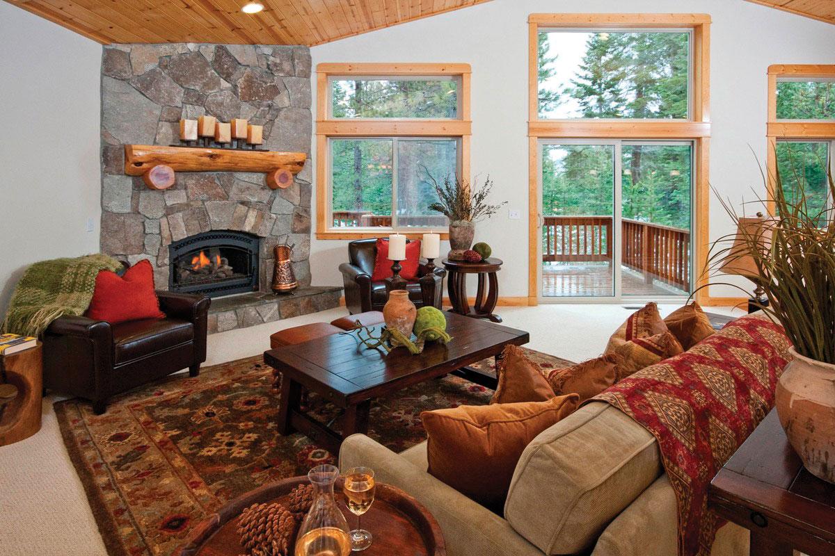 Northwoods Tahoe Donner Home Truckee CA
