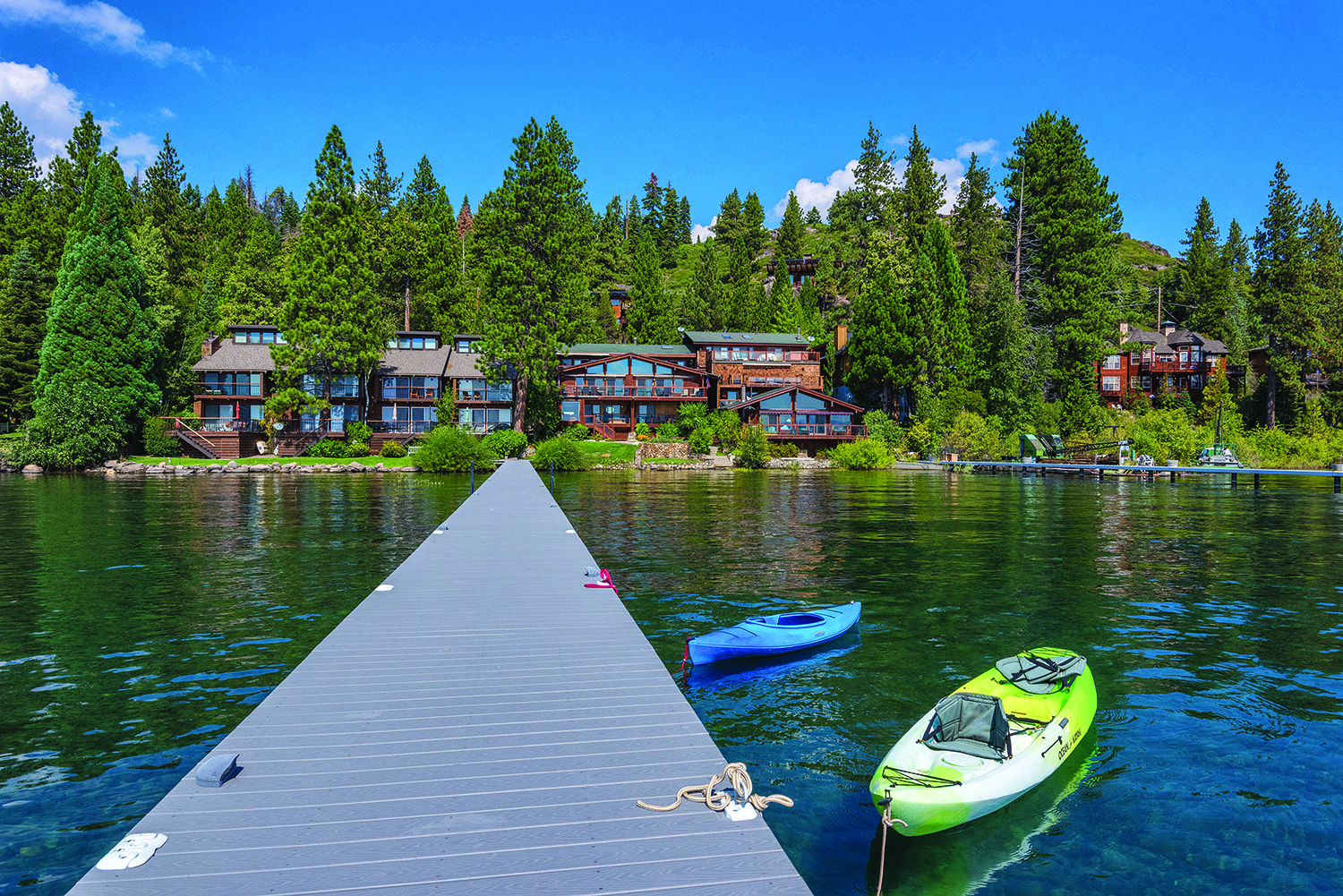 Lake Tahoe West Shore Lakefront Home
