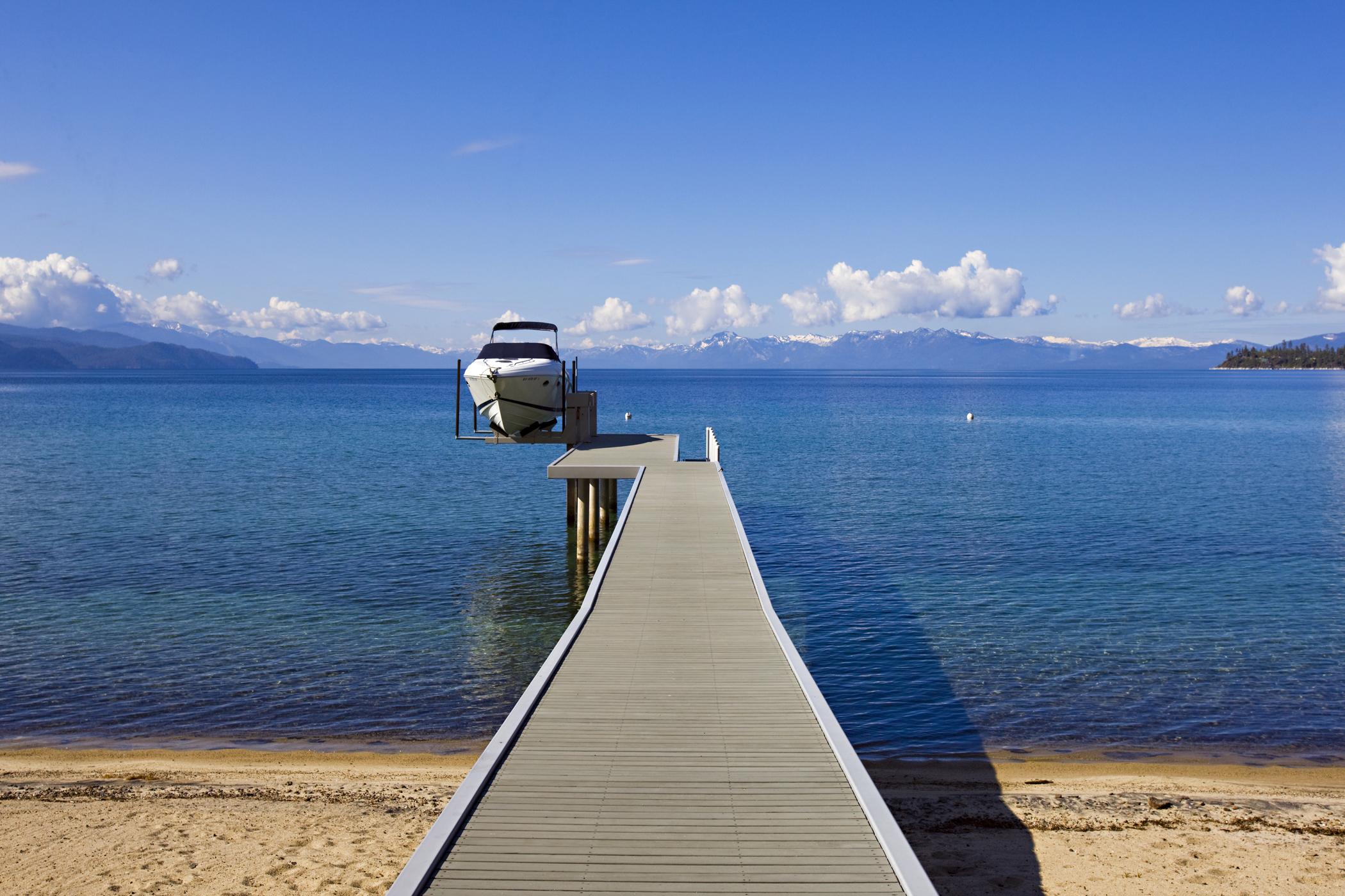 Lakefront Incline Village Boat Pier