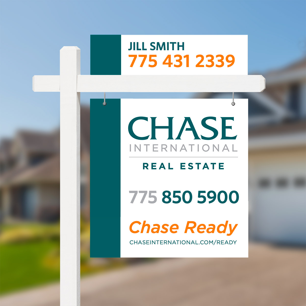 Chase Sign Mockup Website