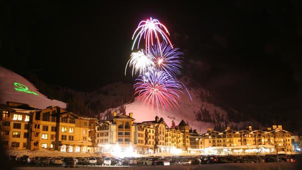 Squaw Valley Village Fireworks