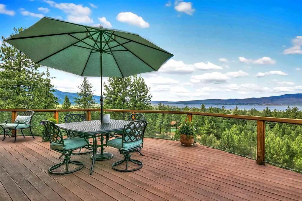 Washoe Lake Deck Views