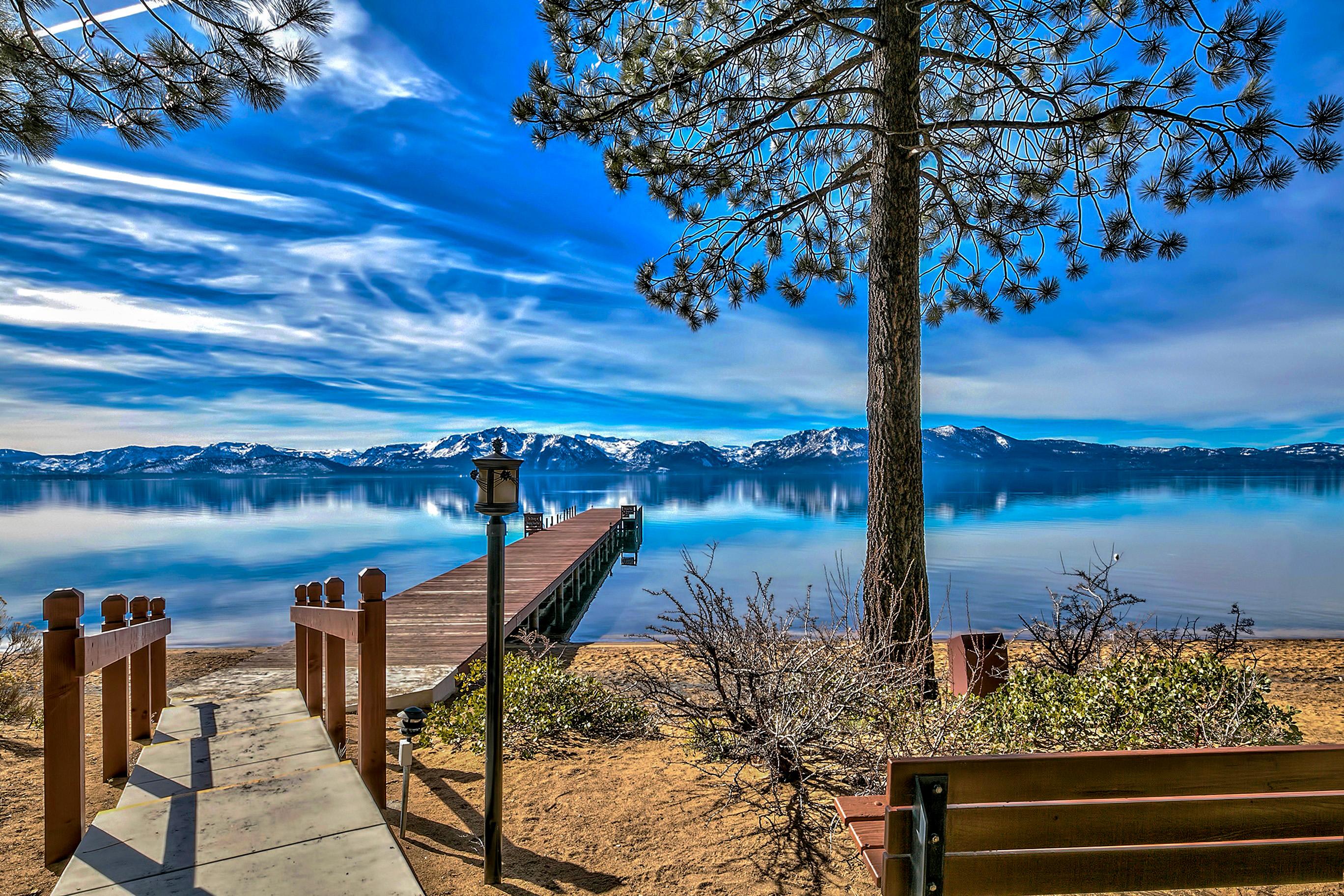 Pinewild Pier Marla Bay Lake Tahoe NV