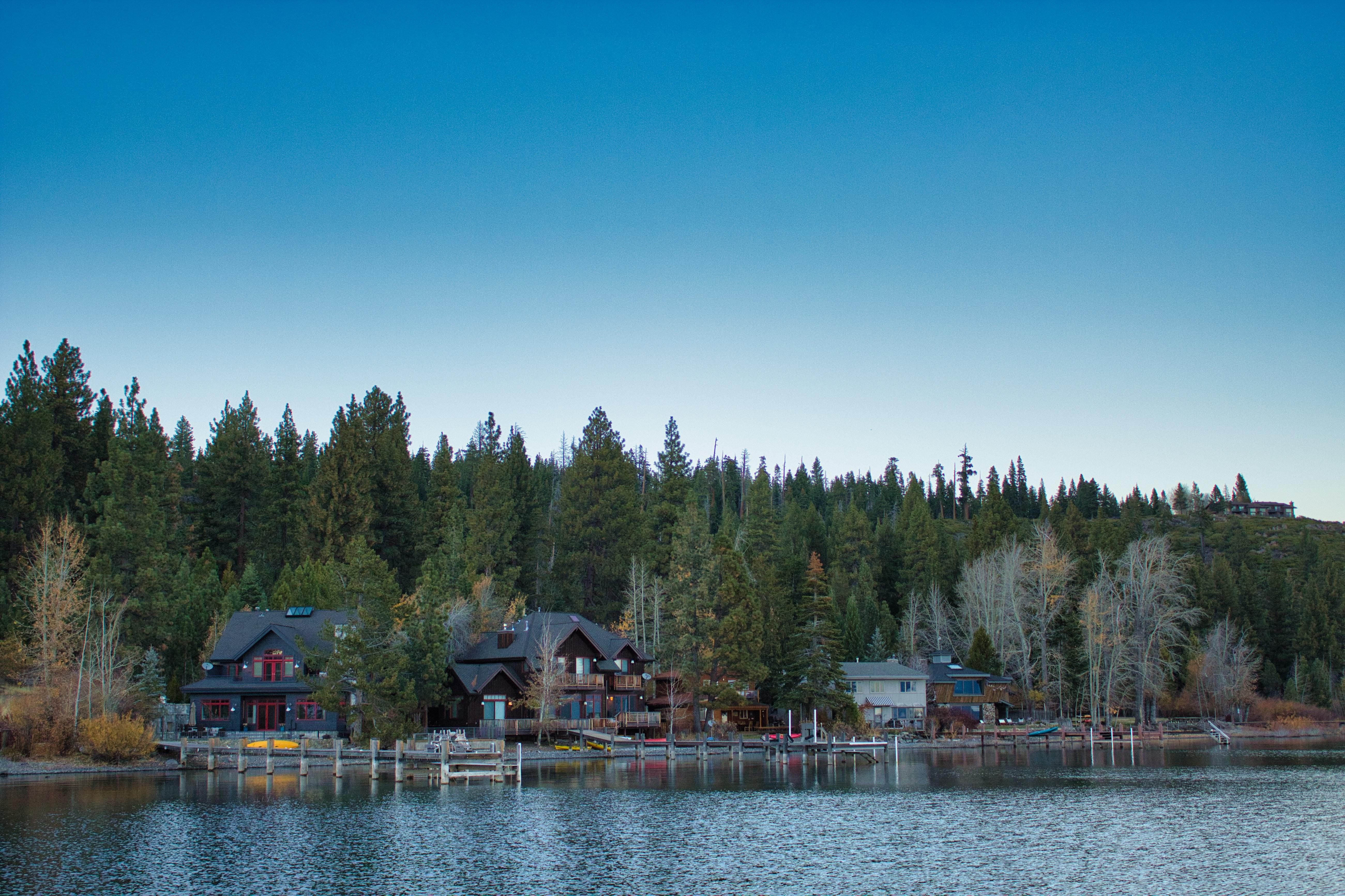 Carnelian Bay Lake Tahoe Shoreline