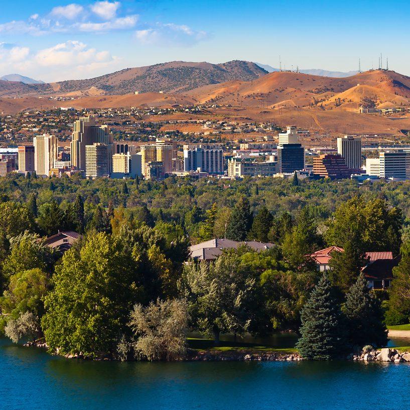 Southwest Reno View Downtown